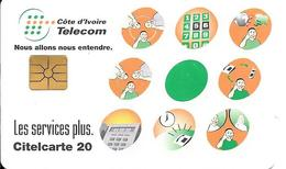 CARTE PUCE-GemA-COTE IVOIRE-CITELCARTE20-Les SERVICES PLUS-TBE - Côte D'Ivoire