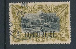 BELGIAN CONGO 1909 ISSUE COB 45 PLATE POSITION 26 USED - Belgisch-Kongo