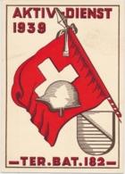 Aktivdienst 1939 - Ter. Bat. 182 - Territorialtruppen - Suisse