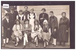 GROUPE EN COSTUMES - THEATRE - TB - Svizzera
