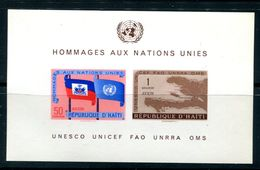 Haiti  SC# C135a Souv Sheet MNH - Haiti