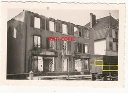 WW2 Rare PHOTO ORIGINALE ALLEMANDE Destructions Galeries Modernes à MAÎCHE Montbeliard 25 DOUBS 1941 - 1939-45