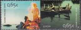 Finland 2004 Michel 1705 - 1706 Neuf ** Cote (2015) 4.50 Euro Europa CEPT Les Vacances - Unused Stamps