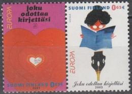 Finland 2003 Michel 1655 - 1656 Neuf ** Cote (2015) 6.40 Euro Europa CEPT Art De L'affiche - Unused Stamps