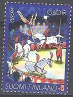 Finland 2002 Michel 1623 Neuf ** Cote (2015) 2.25 Euro Europa CEPT Le Cirque - Unused Stamps