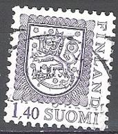 Finland 1984 Michel 938 O Cote (2013) 0.30 Euro Armoirie Cachet Rond - Finnland