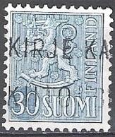 Finland 1956 Michel 460 O Cote (2013) 0.30 Euro Lion Stylisé Cachet Rond - Finnland