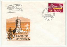 Suisse // Schweiz // Switzerland //  1960-1969 // Comptoir De Martigny Du 1er Au 9 Octobre 1966 - Suisse