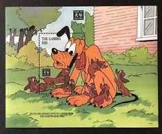 Gambia - 1994 - Disney: Pluto, Year Of The Dog - Yv Bf ??? - Disney