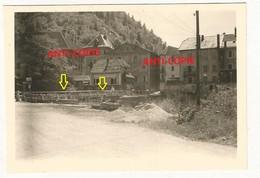 WW2 Rare PHOTO ORIGINALE ALLEMANDE Pont Ko+ Génie Allemand à SAINT HIPPOLYTE Près Maîche Montbeliard 25 DOUBS 1941 - 1939-45