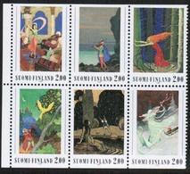 1990 Finland Koivu Booklet Pane **. - Finland