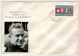 Suisse // Schweiz // Switzerland //  1960-1969 // Election Roger Bonvin à La Présidence De La Confédération 14.12.1966 - Suisse