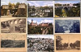 Luxembourg Ville - Lot 55 Cartes (voir Tout Est Scanné) Petit Prix Au Plus Rapide ! - Luxembourg - Ville