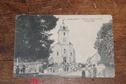 Avrigney (70) L'Eglise Sortie De Messe Cornet Edit N°6 - Francia