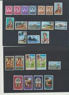 Sainte-Lucie Sint-Lucia  1967-1970 Années Complètes  MNH *** - Ste Lucie (...-1978)