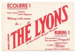 BuvardThé Lyons La Plus Grande Marque Mondiale - Café & Thé