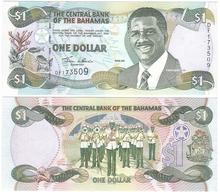 Bahamas - 1 Dollar 2001 AUNC P. 69a Lemberg-Zp - Bahamas