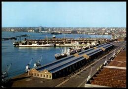 ÄLTERE POSTKARTE MONTEVIDEO URUGUAY PANORAMICA DEL PUERTO Hafen Port Schiffe Ships Postcard Cpa Ansichtskarte AK - Uruguay