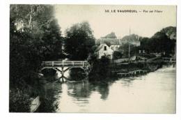 Le Vaudreuil - Vue Sur L'Eure (passerelle, Barrage) Circulé Sans Date Sous Enveloppe - Le Vaudreuil