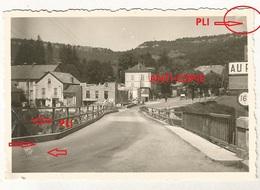 WW2 Rare PHOTO ORIGINALE ALLEMANDE Pont Ko + Génie Allemand à SAINT HIPPOLYTE Près Maîche Montbeliard 25 DOUBS 1941 - 1939-45