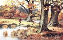 BB60.Vintage Tucks Postcard.Men Gathering Wood. By E Longstaffe - Illustrators & Photographers