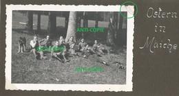 WW2 Rare PHOTO ORIGINALE Soldats Allemands à MAÎCHE Parc Château Mérode ?? Montbeliard 25 DOUBS 1941 - 1939-45