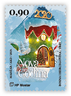 2019, Christmas And New Year, Mostar, MNH, Bosnia And Herzegovina - Bosnia And Herzegovina