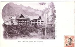 Cpa LAOS   Une Sala   Maison Des Voyageurs       -T- - Laos