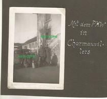 WW2 Rare PHOTO ORIGINALE Soldats Allemands DOUANES à CHARMAUVILLERS P. Maîche Montbeliard 25 DOUBS Frontière Suisse - 1939-45