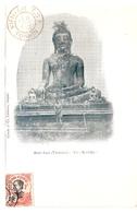 Cpa LAOS     Haut-laos Vientiane  Un Bouddha          -T- - Laos