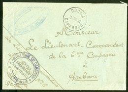 1943 FORCES FRANCAISES LIBRES à DOUALA. Enveloppe En F.M. + Cachets (Voir Description) - Marcophilie (Lettres)