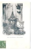 Cpa LAOS     Haut-laos  Vientiane  Entree De Pagode          -T- - Laos
