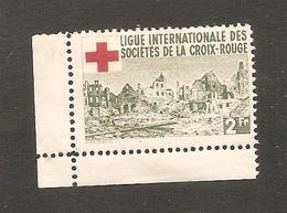 Vignette  Croix Rouge   2 Fr  Avec Gomme - Non Classés