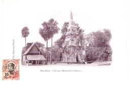 Cpa LAOS     Haut-laos Un That           -T- - Laos