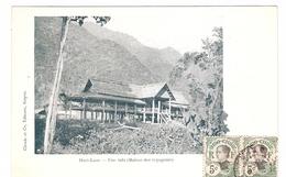 Cpa LAOS     Haut-laos Une Sala           -T- - Laos