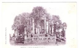Cpa LAOS     Haut-laos Ruines De Pagode A Vientiane        -T- - Laos
