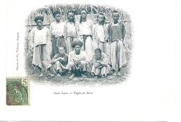 Cpa LAOS     Haut-laos   Types De Meos        -T- - Laos