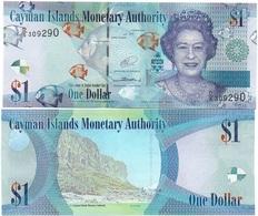 Cayman Islands - 1 Dollar 2014 Serie D/5 AUNC Lemberg-Zp - Iles Cayman