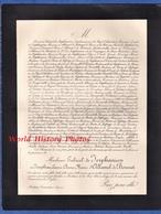 Document De 1900 - MOUTIERS TARENTAISE ( Savoie ) - Joséphine Laure Anne Marie D' ALLAMEL De BOURNET / De JERPHANION - Historische Documenten