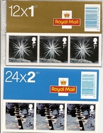 GREAT BRITAIN, FOLDED BOOKLET, 2003, LX 25/26, Christmas - Booklets