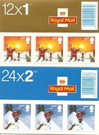 GREAT BRITAIN, FOLDED BOOKLET, 2004, LX 27/28, Christmas - Booklets