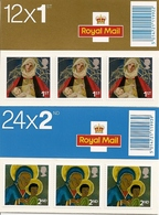 GREAT BRITAIN, FOLDED BOOKLET, 2005, LX 29/30, Christmas - Booklets