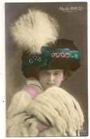 181- Femme - Chapeau - Mode 1909/10 - Moda
