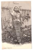 Cpa LAOS  Tonkin  Femme Laotienne    1904   -T- - Laos