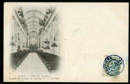 """1901 N°111 C-à-d Bleu De Paris """"RECLAMATIONS R.F. 1/6/01"""" Sur CP De La Chapelle Du Tombeau De Napoléon 1er Aux Invalides - Marcophilie (Lettres)"""