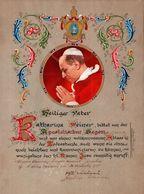 Alter Apostolischer Segen Für Katharina Weiner Im Namen Jesu , Pabst Rom , Kirche !!! - Religion &  Esoterik