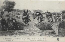 La FERME DU FAUX MIROIR: Bataille De La Marne 1914, Scène D'assaut, Militaria - Guerra 1914-18