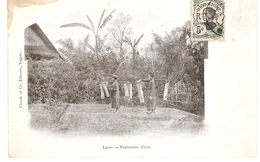 Cpa LAOS  Porteuses D'eau      -T- - Laos