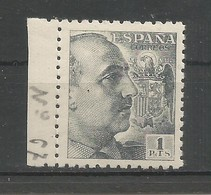 España Spain Espagne Edifil 931 MNH / ** 1943 Franco 1PTS. - 1931-50 Unused Stamps