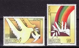 Europa CEPT Malte - Malta 1995 Y&T N°929 à 930 - Michel N°954 à 955 *** - 1995